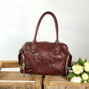 Botkier Burgundy Leather Purse
